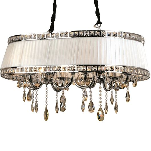 Picture of DORIS chandelier 92x54 white