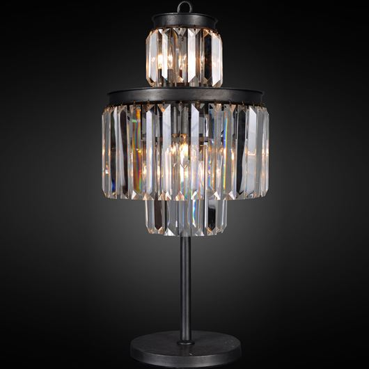 Picture of AMTI table lamp h52cm clear