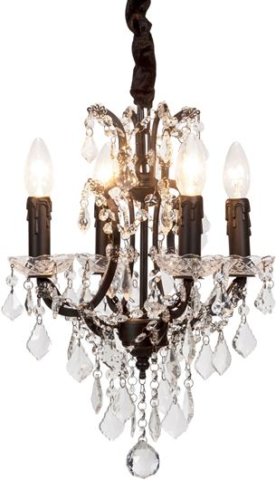 Picture of ALEXA chandelier d24cm black