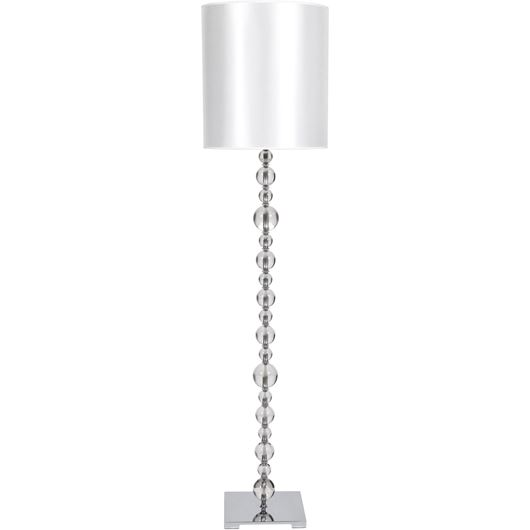 CRYST floor lamp h175cm white/clear