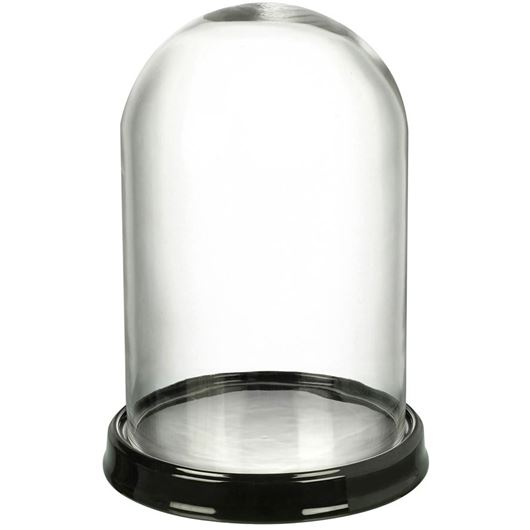 Picture of DOME with base h42cm clear/black