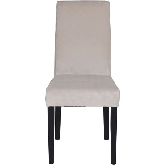 ROBEL dining chair micro/fibre natural/black