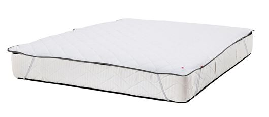 Picture of BLISS mattress cover 160x200 white