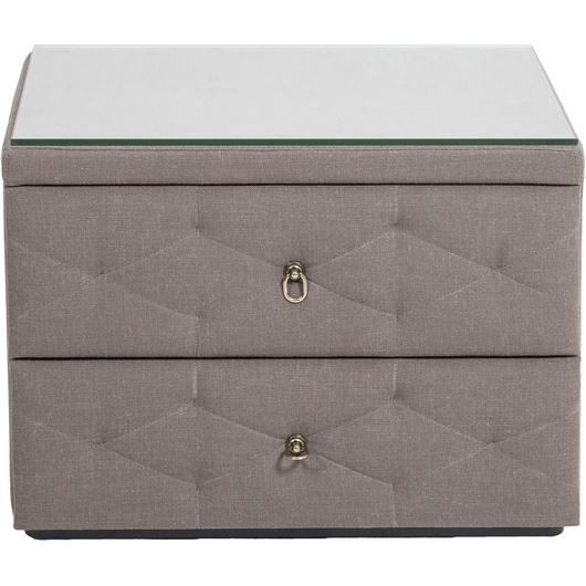 ZENN bedside table taupe