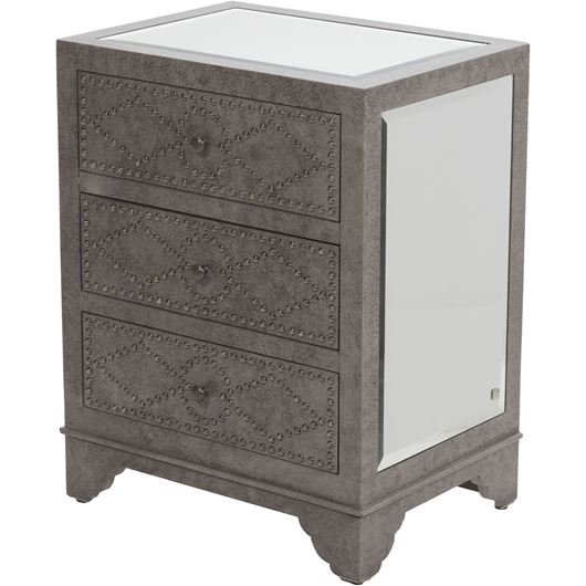 NYLA bedside table brown