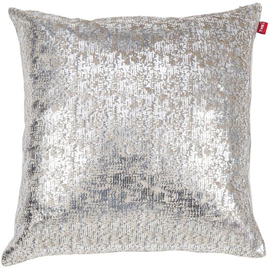 Picture of LILA cushion cover 45x45 silver