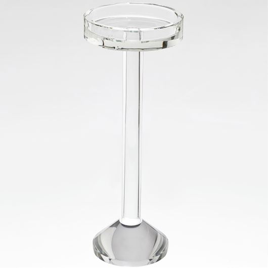 KELLAN candle holder h32cm clear