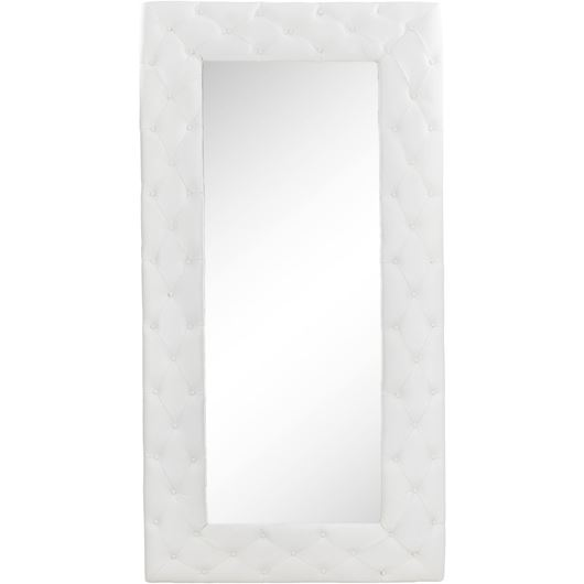 Picture of HESTOR mirror 200x100 leather white