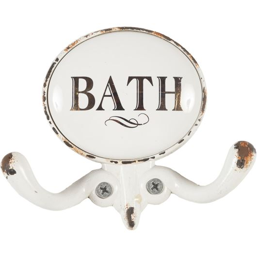 Picture of BATH 2 hook white