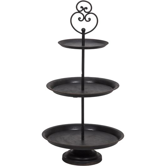 ADNEY display stand h60cm black