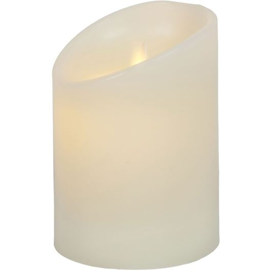 Picture of FLAMELESS candle 9x13 cream