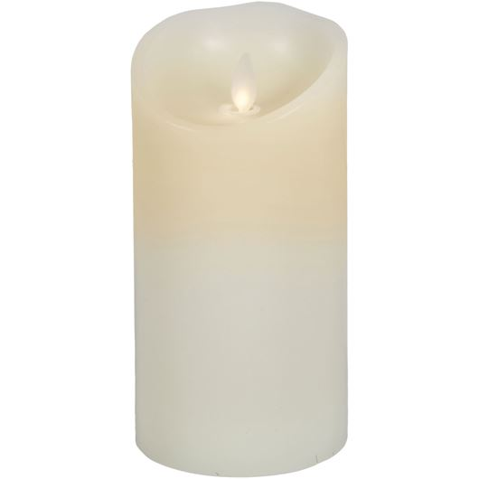 Picture of FLAMELESS candle 9x18 cream