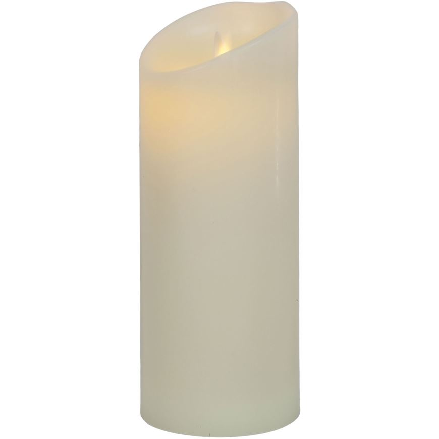 Picture of FLAMELESS candle 9x23 cream