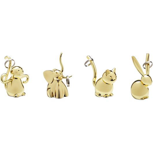 Picture of ZOOLA ring holder assorted 4 brass