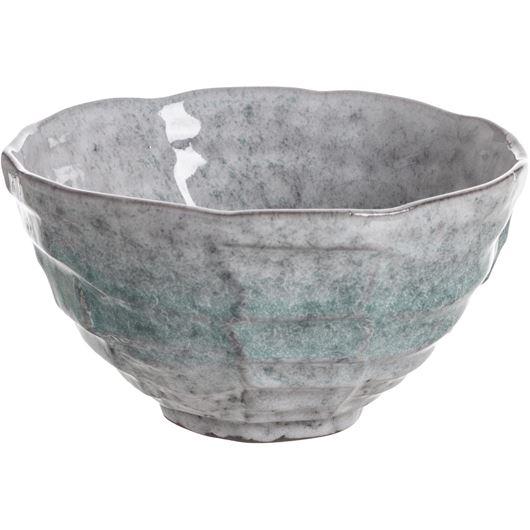 621535 BIYU bowl d15cm grey-grn