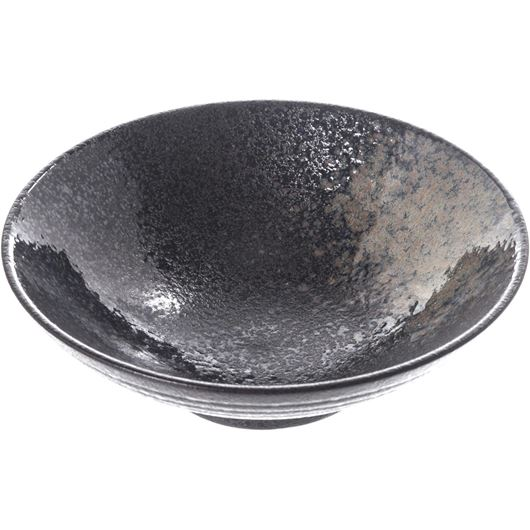 624384 AIRI bowl d22cm blk-blue 2