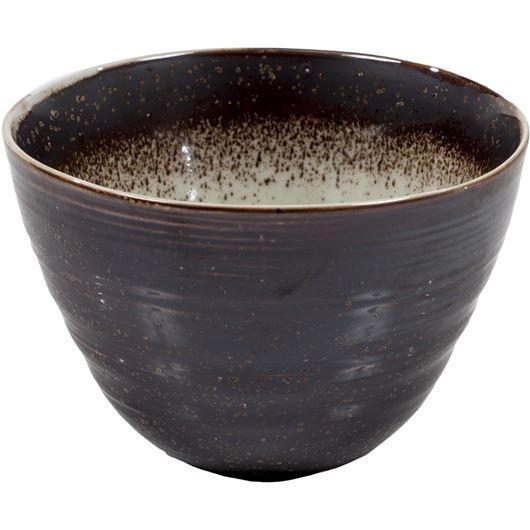 624713 ZAN bowl d14cm brn