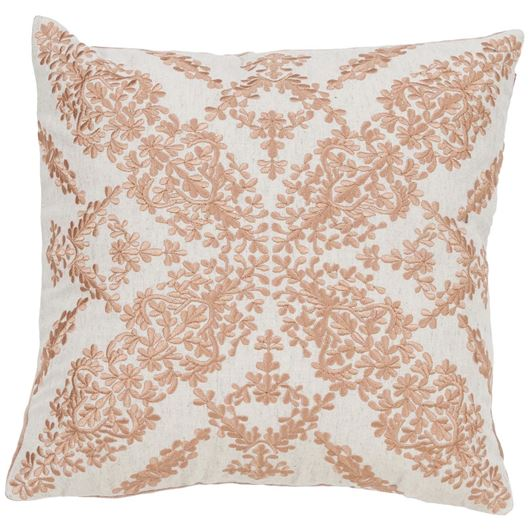 Picture of ANWEN cushion cover 40x40 orange/white