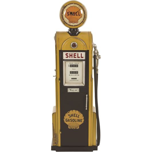 Picture of SHELL station decoration h160cm yellow/brown