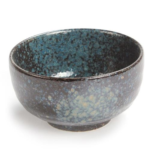 AIRI bowl d13cm black/blue