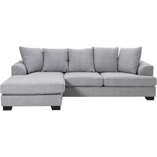 KINGSTON sofa2.5+ chl L grey 1