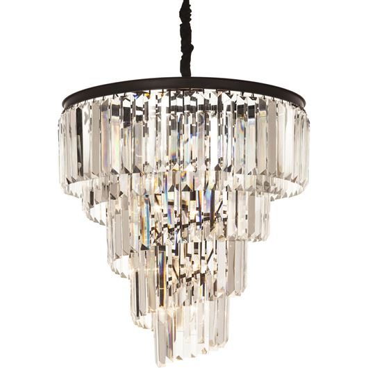 DALLON chandelier d66cm clear