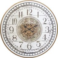SAMIYA wall clock gold/silver