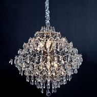 Picture of AMOS chandelier d64cm clear/silver
