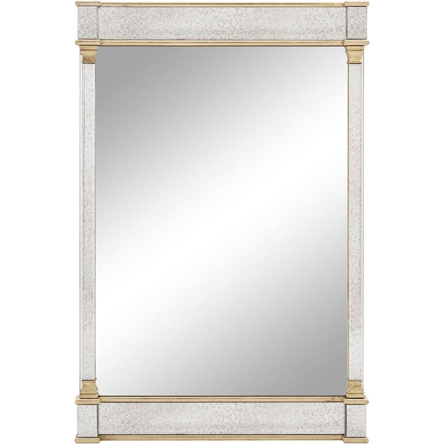 Picture of GAVIN mirror 120x80 clear/gold