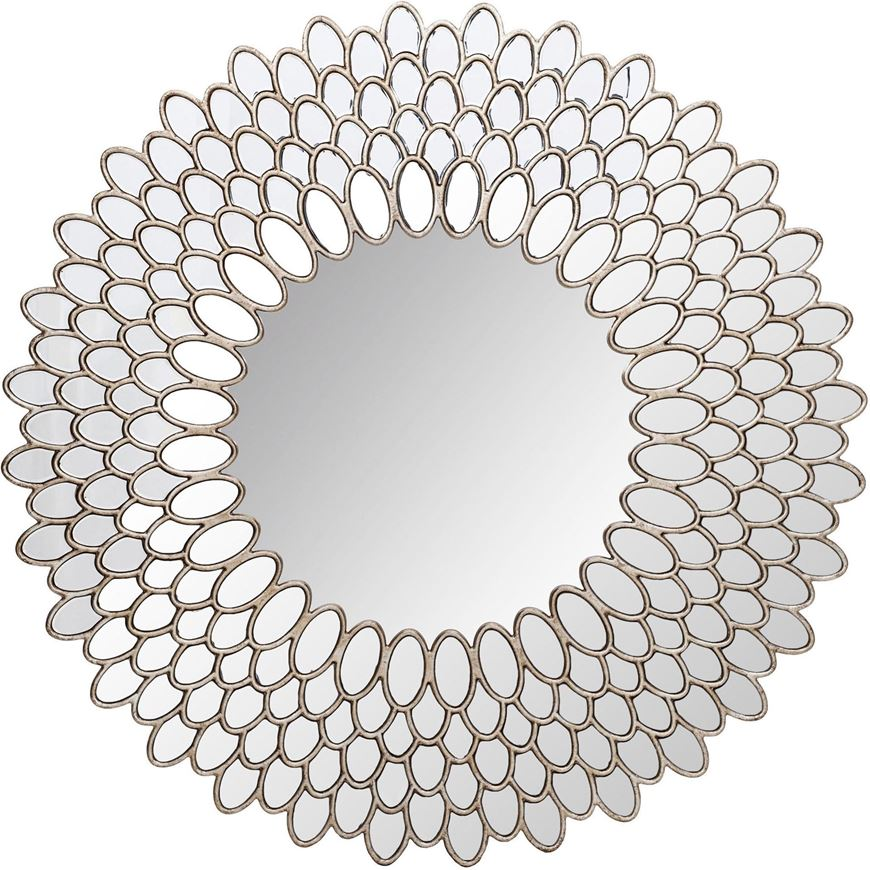 KERRY mirror d110cm clear/silver