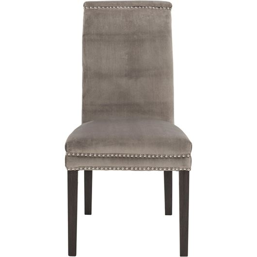 Picture of STONEA dining chair grey/black
