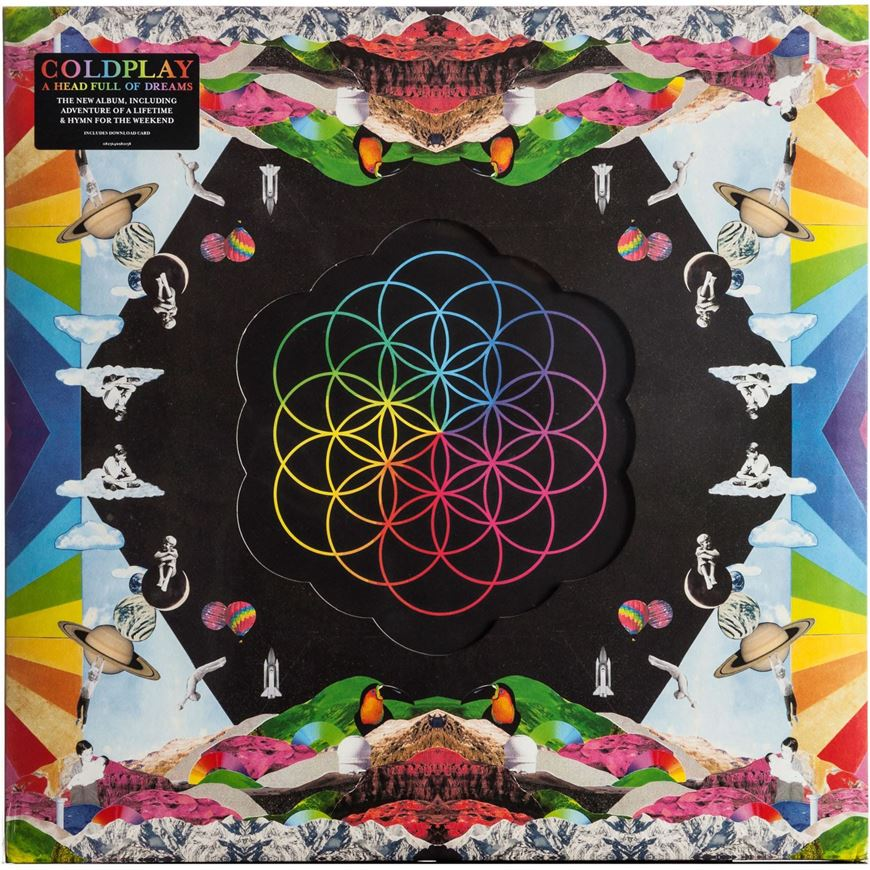 Picture of A HEAD FULL OF DREAMS vinyl