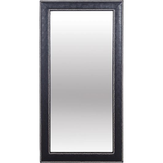 Picture of PHILIP mirror 200x100 croco print faux leather black