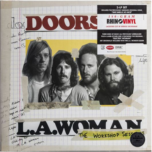 Picture of L.A. WOMAN THE WORKSHOP SESSION vinyl