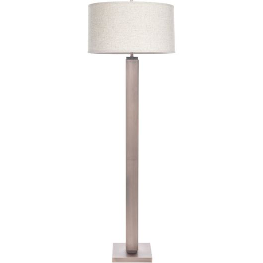 Picture of AGNA floor lamp h165cm beige/copper