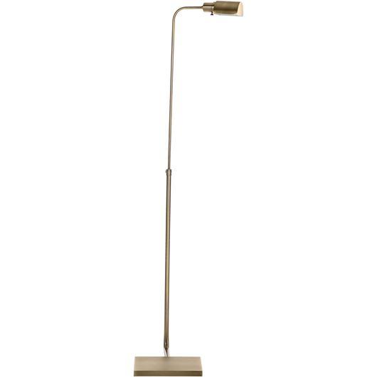 Picture of HEDDA floor lamp h135cm brass