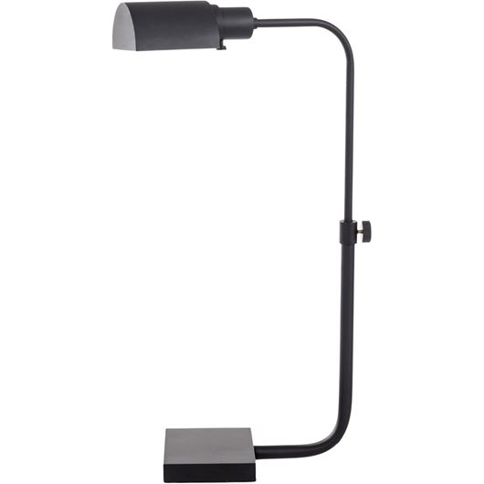 Picture of HEDDA table lamp h43cm black