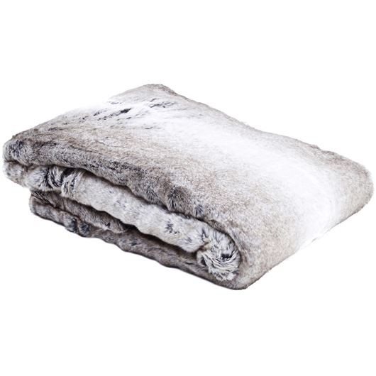 Picture of CAUSTA throw 130x180 grey