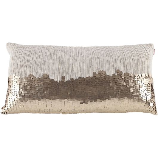 Picture of LAUREN cushion 30x60 natural/gold