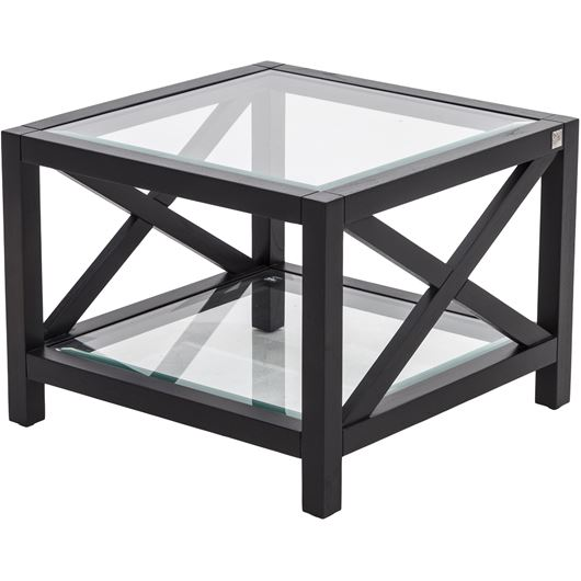Picture of CROSTA side table 60x60 black
