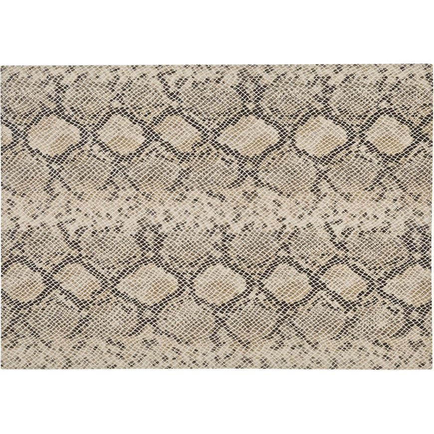 Picture of PYTHON place mat 44x33 cream