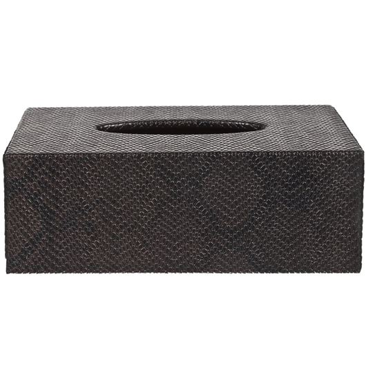 Picture of PYTHON tissue box 14x25 brown