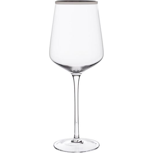 Picture of PLATIN red wine glass h27cm clear