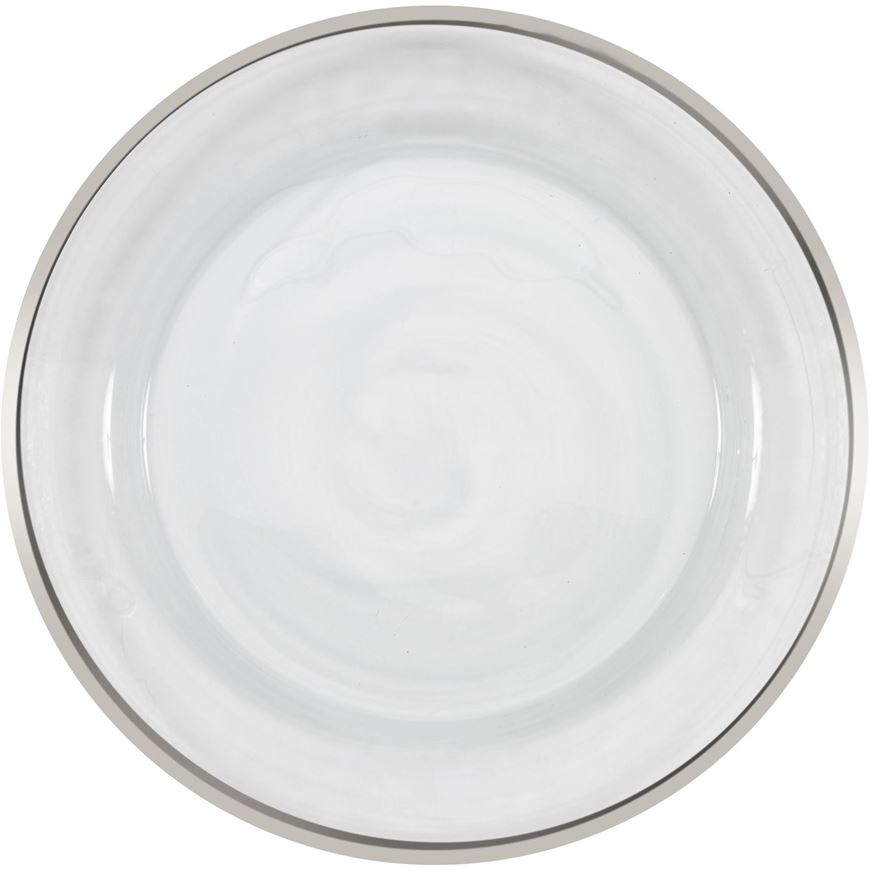 Picture of IMANA charger plate d31cm white