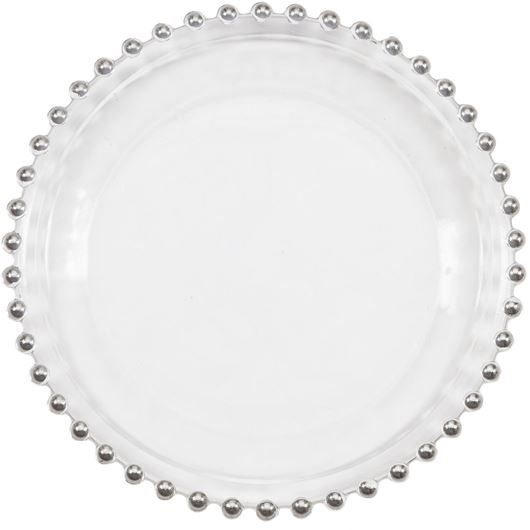 JOUNI side plate d20cm clear