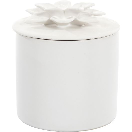 Picture of DAISY box h11cm white