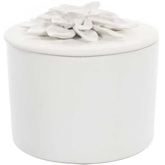 Picture of DAISY box h14cm white