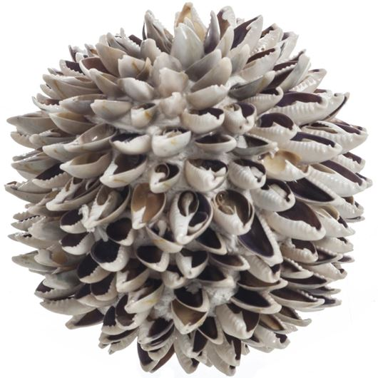 Picture of CARDITA ball decoration d11cm brown