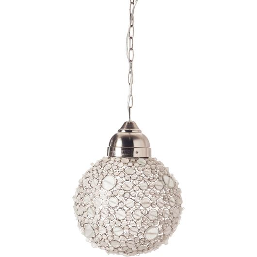 Picture of BATASHA pendant lamp d30cm white