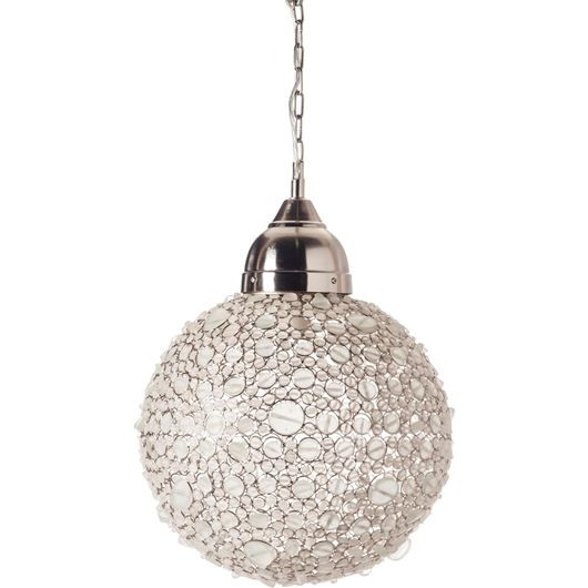 Picture of BATASHA pendant lamp d43cm white